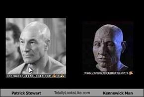 Patrick Stewart TotallyLooksLike.com Kennewick Man