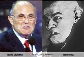 Rudy Giulianai TotallyLooksLike.com Nosferatu