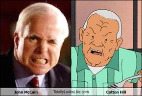 John McCain TotallyLooksLike.com Cotton Hill