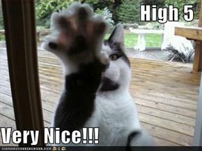 High 5  Very Nice!!!