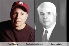 Paul Simon TotallyLooksLike.com John McCain