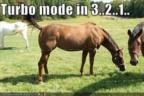 Turbo mode in 3..2..1..