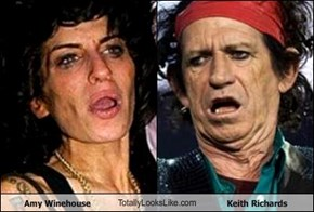Amy Winehouse TotallyLooksLike.com Keith Richards