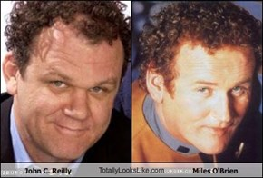 John C. Reilly TotallyLooksLike.com Miles O'Brien