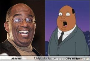 Al Roker TotallyLooksLike.com Ollie Williams