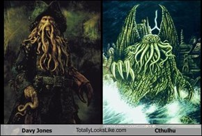 Davy Jones TotallyLooksLike.com Cthulhu
