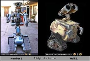 Number 5 TotallyLooksLike.com Wall.E.