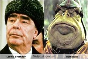 Leonid Brezhnev TotallyLooksLike.com Boss Nass