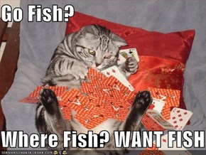 Go Fish?  Where Fish? WANT FISH