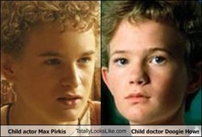 Child actor Max Pirkis TotallyLooksLike.com Child doctor Doogie Howser