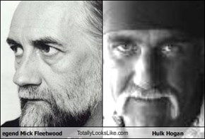 Rock legend Mick Fleetwood TotallyLooksLike.com Hulk Hogan
