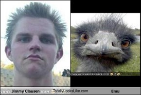 Jimmy Clausen TotallyLooksLike.com Emu