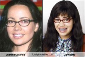 Jeanine Garafolo TotallyLooksLike.com Ugly Betty