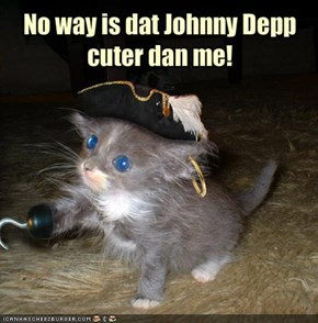 No way is dat Johnny Depp