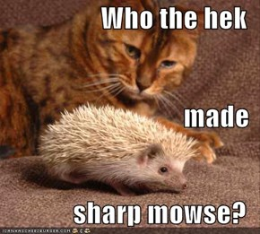 Who the hek made  sharp mowse?