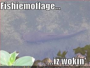 Fishiemoflage...  ...iz wokin'