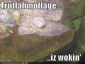 Trutlahmoflage...  ..iz wokin'