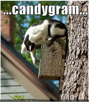 ...candygram...