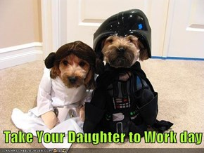 Take Your Daughter to Work day