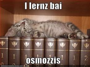 I lernz bai  osmozzis