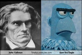 John Calhoun Totally Looks Like Sam the Eagle