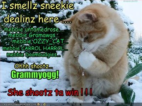 I smellz sneekie dealinz here ....