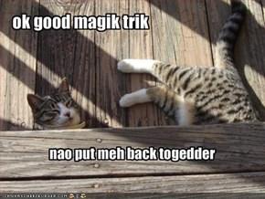 ok good magik trik