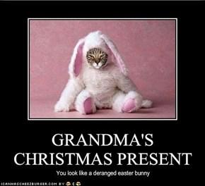 GRANDMA'S CHRISTMAS PRESENT