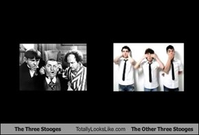 The Three Stooges Totally Looks Like The Other Three Stooges
