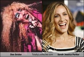 Dee Snider Totally Looks Like Sarah Jessica Parker