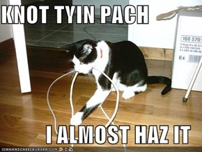 KNOT TYIN PACH  I ALMOST HAZ IT
