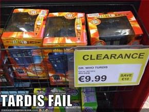TARDIS FAIL