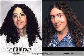 This Girl Totally Looks Like Weird Al