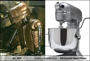 EV-9D9 Totally Looks Like KitchenAid Stand Mixer