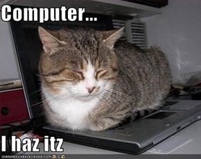 Computer...  I haz itz