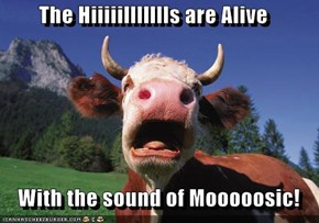 The Hiiiiillllllls are Alive     With the sound of Mooooosic!