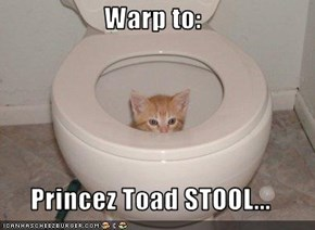 Warp to:  Princez Toad STOOL...