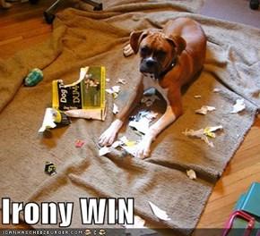 Irony WIN
