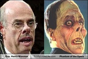 Rep. Henry Waxman Totally Looks Like Phantom of the Opera
