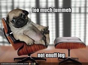 too much tummeh