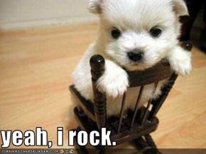 yeah, i rock.