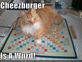 Cheezburger  Is A Wurd!