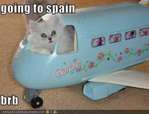 going to spain  brb