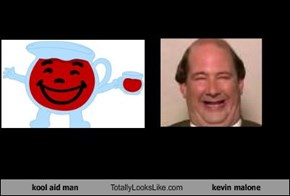 kool aid man Totally Looks Like kevin malone