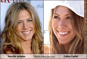 Jennifer Aniston Totally Looks Like Colbie Caillat