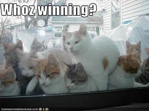 Whoz winning?