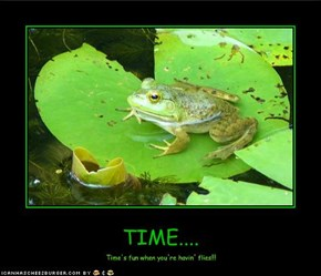 TIME....
