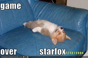 game  over             starfox
