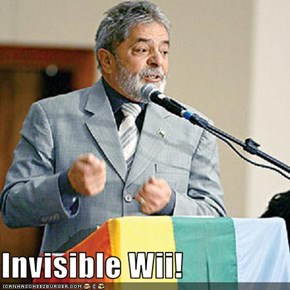 Invisible Wii!