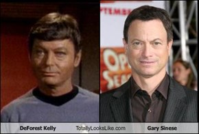 DeForest Kelly Totally Looks Like Gary Sinese